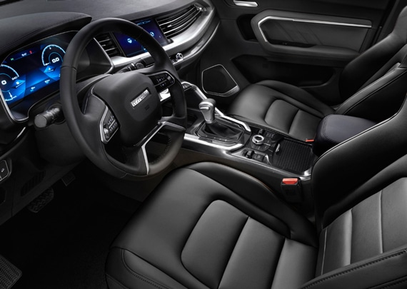Haval All New H6 Interior